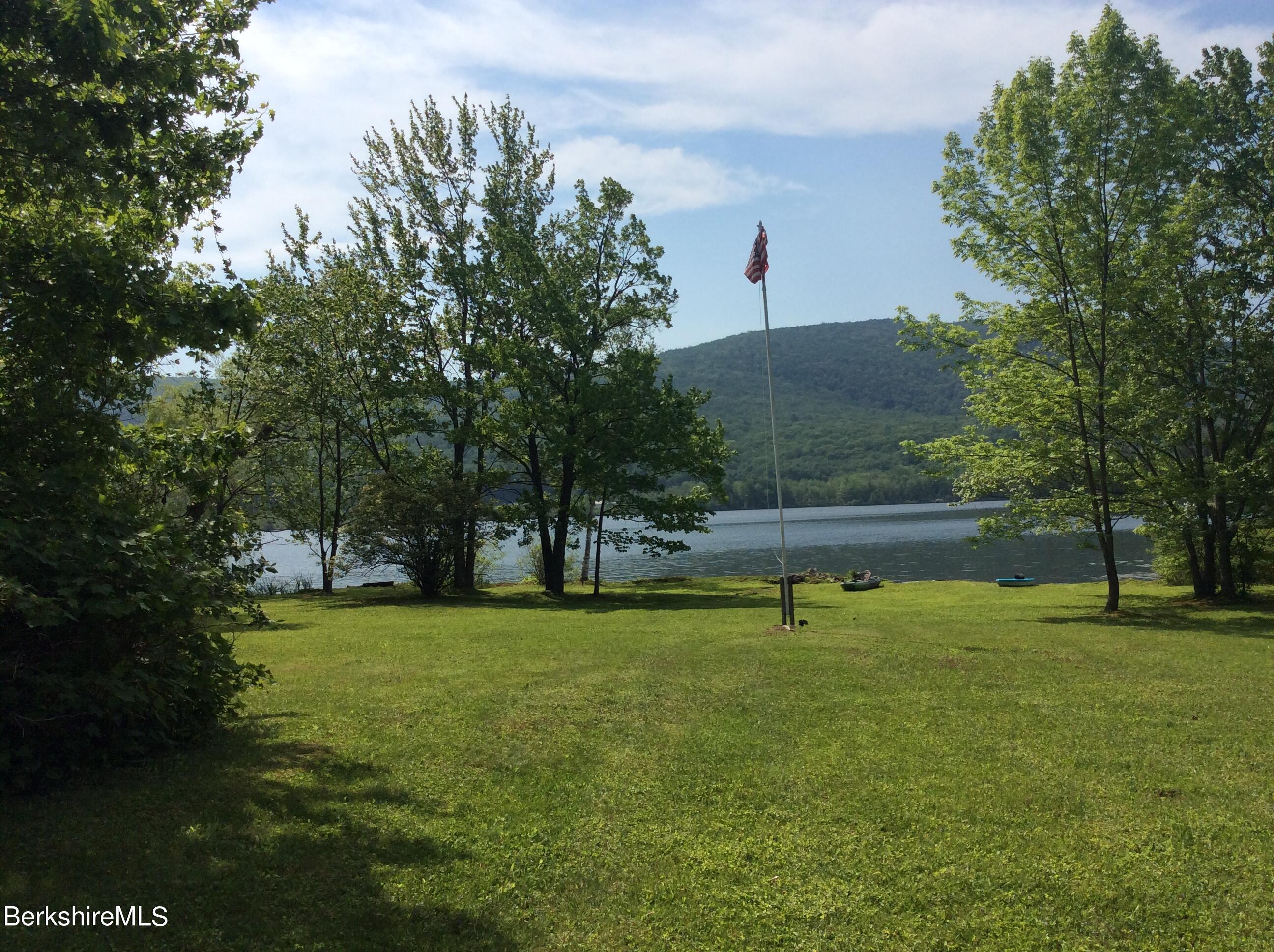 rear yard to lake
