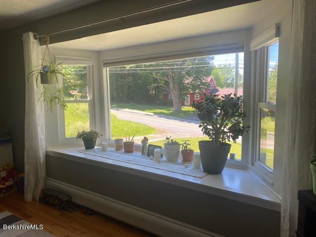 Bay Window Out to Front Yard