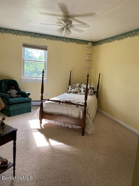 lovely warm and inviting bedroom