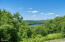 Overlook Lake Garfield below and all the way to the Catskill Mountains from the deck.