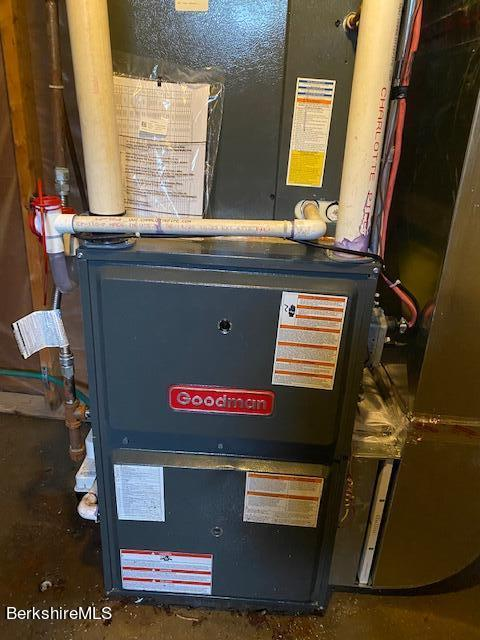 brand new furnace with air conditioning