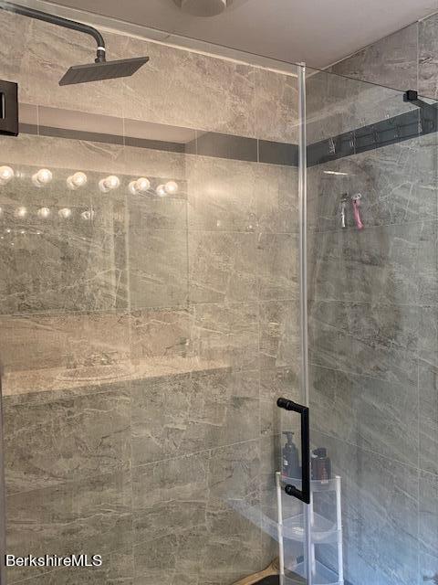 brand new walk in shower