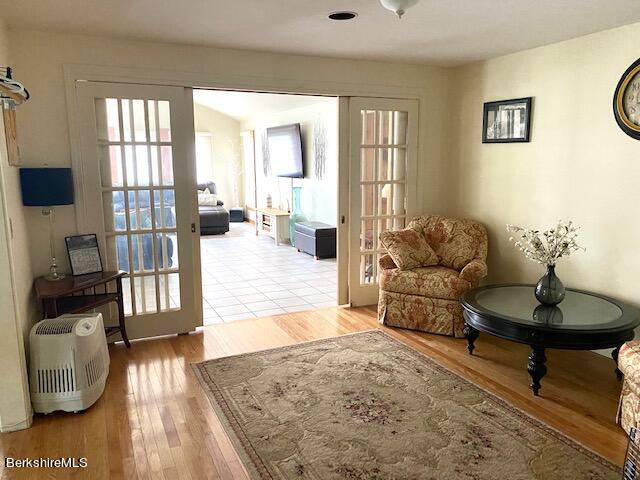 french doors to great room