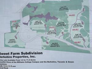 Lot 1-5 SWEET FARM Williamstown MA 01267
