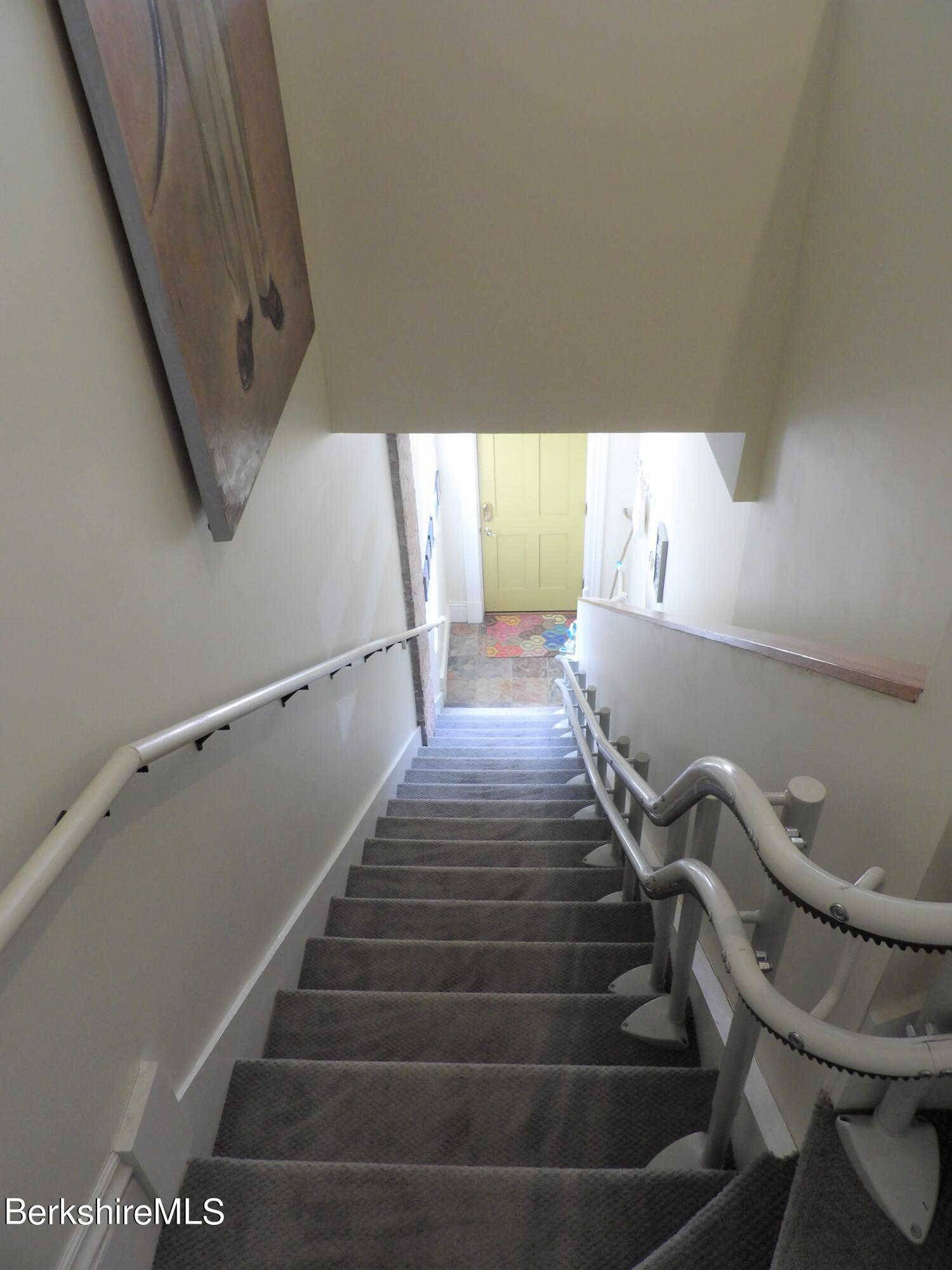 Rear Stairs withChairLiftTrack