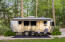 Airstream Nestled in the Woods