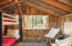 Seasonal Bunkhouse Interior, Two Bunks