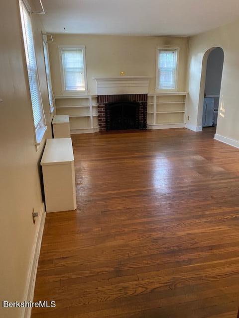 very generous living room