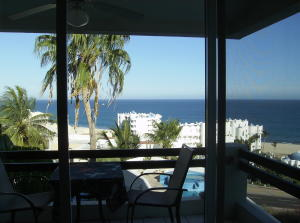 Living Room & Terrace Views