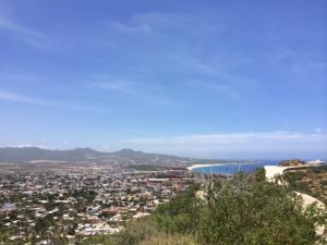 City & Sea of Cortez view