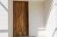 Main Entrance. Front door made of Parota Wood