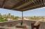 Deck outside main bedroom