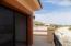 Master bedroom patio deck