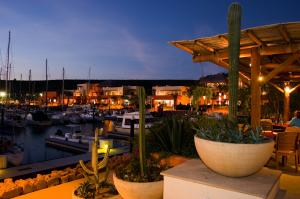 Your terrace overlooking the Marina