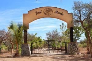 Highway north of Todos Santos, Rancho Jose Maria, Pacific,