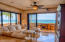 Feel the breeze off of the Sea of Cortez as the double paned doors open up to the wraparound terrace.