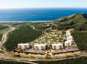 1. Copala Condo Towers overlook Villas and Golf to the Pacific Ocean.