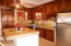 Upgraded Kitchen Stainless Steel and Granite Counters