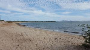 Nice Sandy Beach steps away