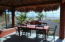 Dining in the palapa