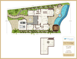4th Row, pre-construction, El Encanto, Home Site #38, San Jose del Cabo,