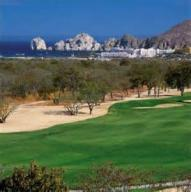 hole one passing Viva Restaurant, Lot on golf green, Cabo Corridor,