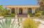 Single story ranch home. desert landscaping