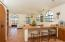 High ceilings and natural light throughout. integrated kitchen, dining and living areas.