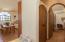 Entry to master bedroom. Linen closet in hallway