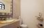 1/2 bath in third guest room