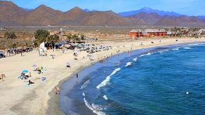 Beach Lot, Los Cerritos, Pacific,