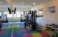 Common area gymnasium