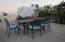 Outdoor dinning under the sunset