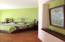 Master bedroom, spacious.