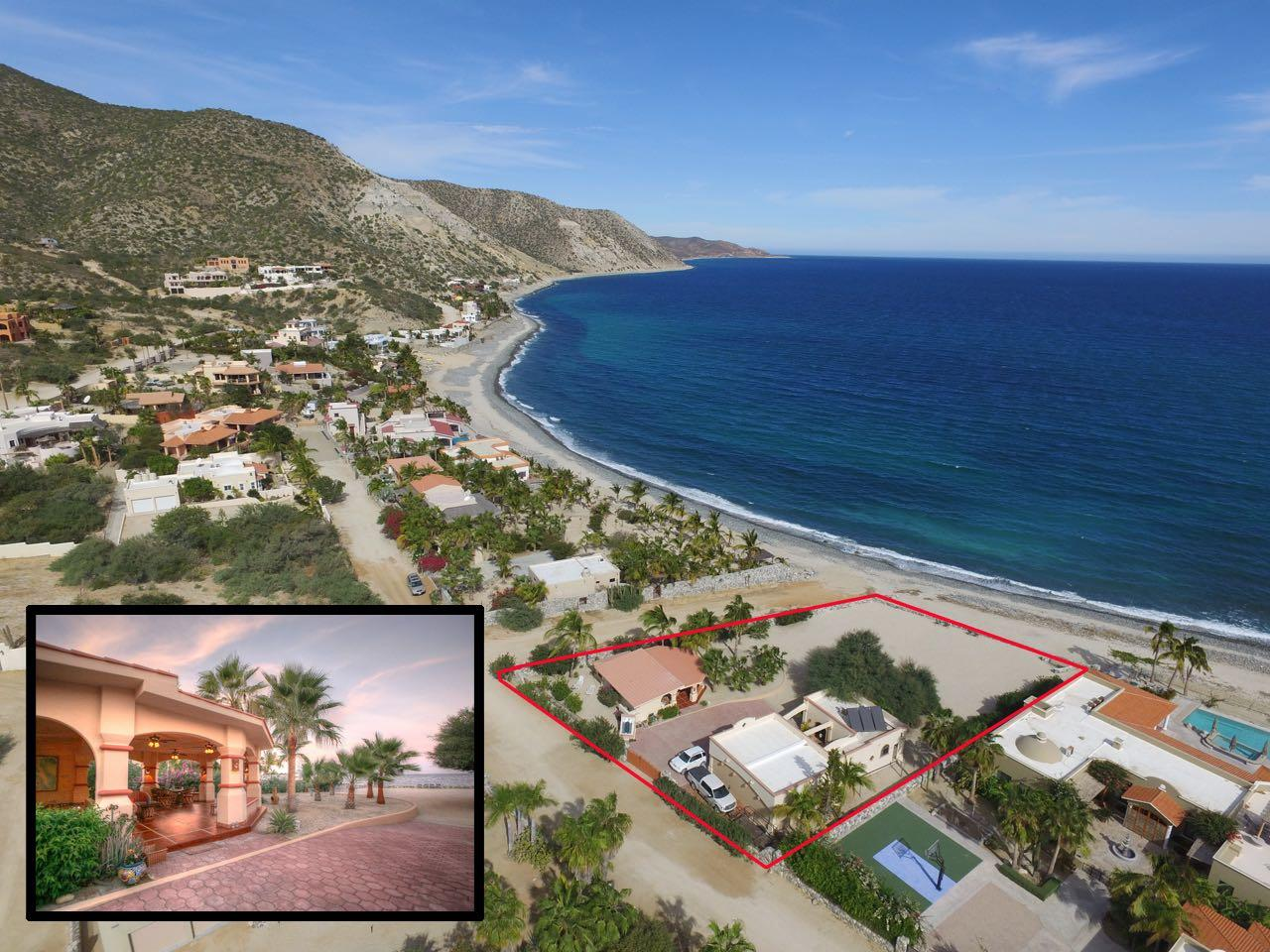 East Cape, 2 Bedrooms Bedrooms, ,2 BathroomsBathrooms,House,For Sale,Casa Pedregal,18-3