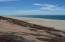 Beach view from edge