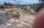 View across from deep end of the lot before slope down to the beach and build-out pad towards the street and sidewalk.