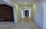 tv room and hall