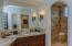 Large, Luxurious Guest Master Bathroom