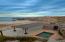 Beachfront pool and washroom