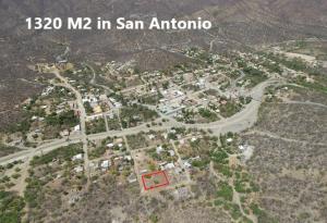 Overhead view of San Antonio