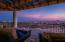 Sunset from upper terrace.