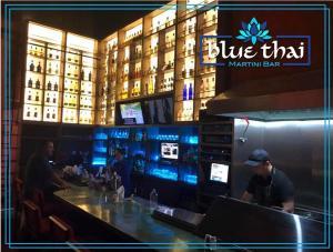 Blvd Marina, Plaza Bonita, BLUE THAI bar/restaurant, Cabo San Lucas,