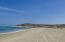 Looking South down the spectacular sandy beach