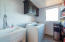 complete laundry rooms on each level