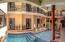 Court-yard swimming pool & spa