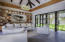 featured high wood beam ceilings throughout