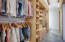 long-two sided closet