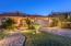 Hacienda del Sol home exterior at sunset