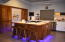 Gorgeous custom kitchen cabinets and under-mount lighting